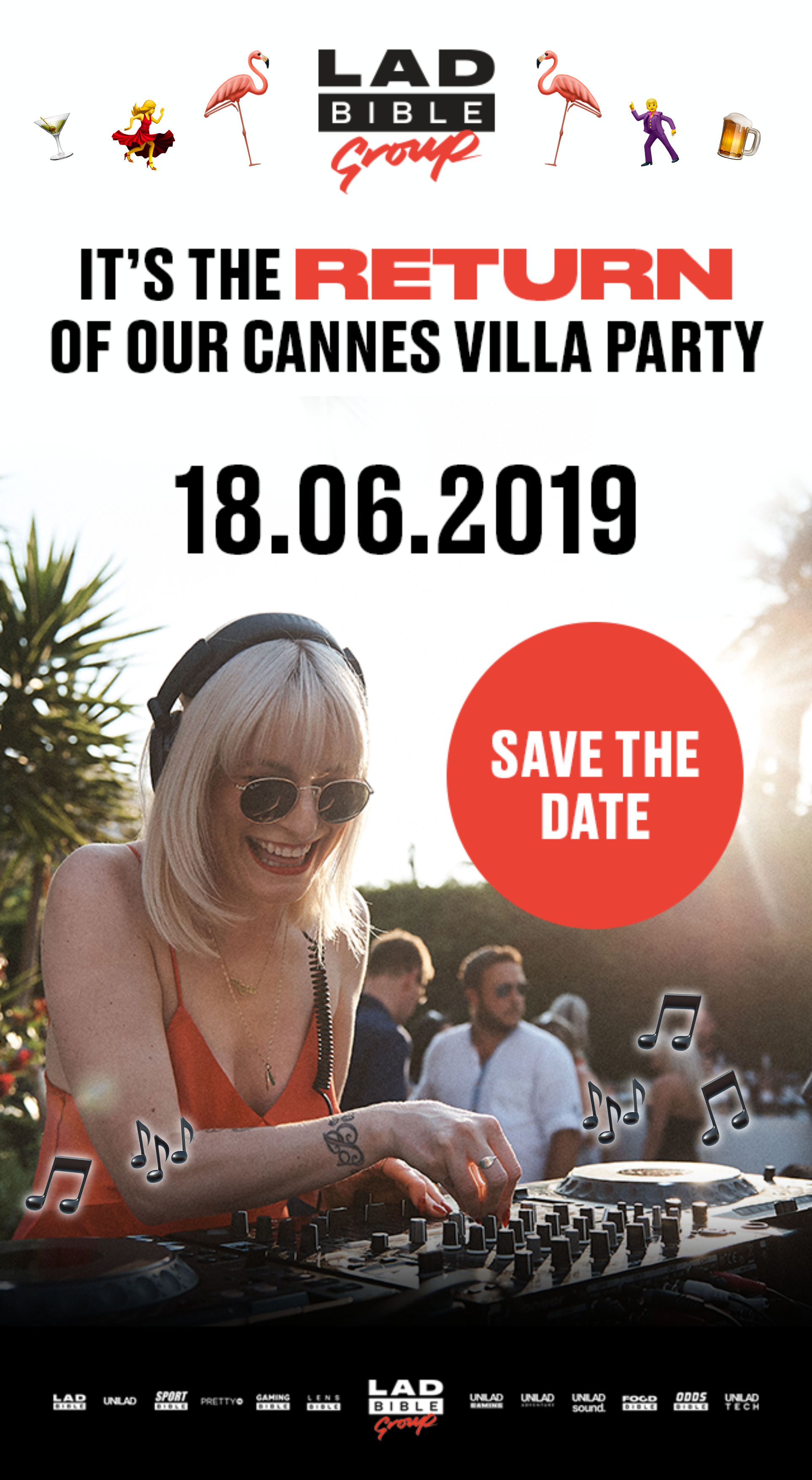 The Cannes Lions 2019 Party List by Akommo